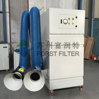 Portable Dust Collector With Suction Arm